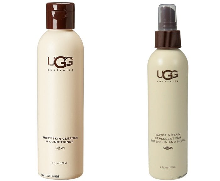 UGG Sheepskin Cleaner & Conditioner and UGG Sheepskin Water and Stain Repellent