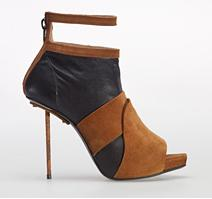 Acne 'Gemini' Ankle Booties