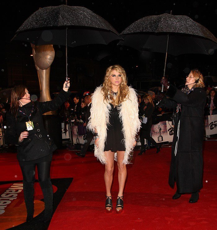 Kesha Rose Sebert, known mononymously as Kesha, is an American singer, songwriter, rapper, composer, and actress