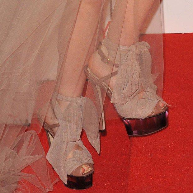 Ashley Olsen in Fendi heels
