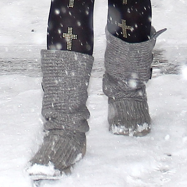 Remove snow from your UGGs as soon as possible