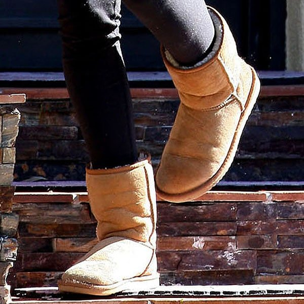 Ugg boots in the sun