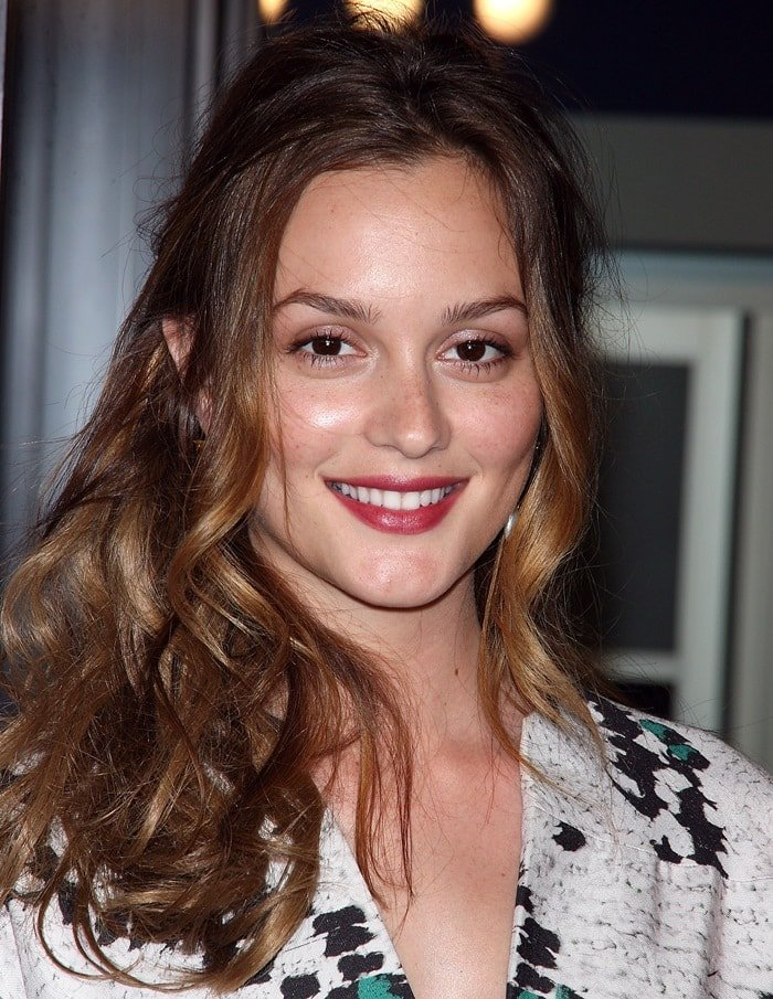 Leighton Meester at the NYC Premiere of 'Date Night' at the Ziegfeld Theater in New York on April 6, 2010