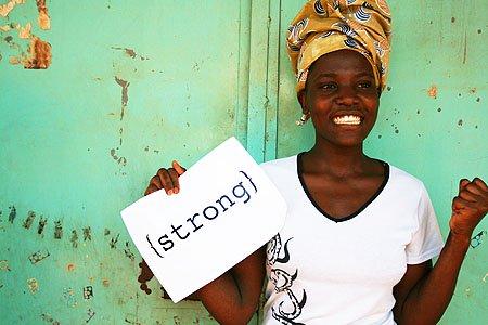 Wangila Edna, part of the 2010 class of Sseko women