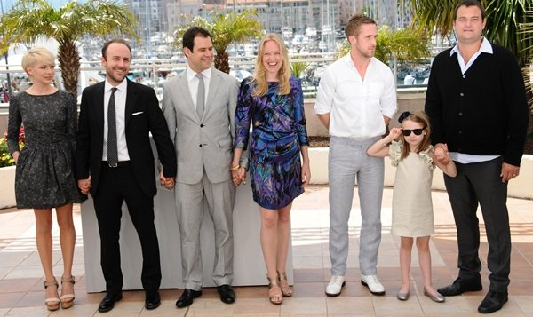 Michelle Williams, Derek Cianfrance, Ryan Gosling and Faith Wladyka at the Cannes International Film Festival 2010 - Day 7 - 'Blue Valentine' Photocall in Cannes, France on May 18, 2010