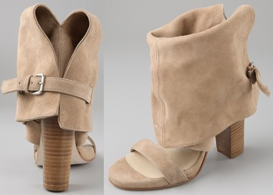 Opening Ceremony Long Cuff High Heel Sandals