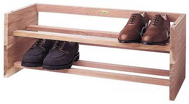 Woodlore Cedar Shoe Rack
