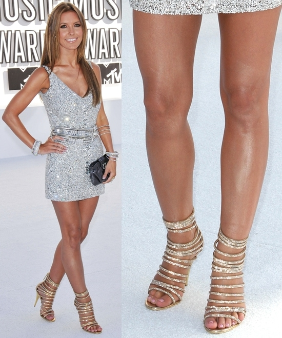 Audrina Patridge at the 2010 MTV Video Music Awards (MTV VMAs) held at the Nokia Theatre, Los Angeles, September 12, 2010