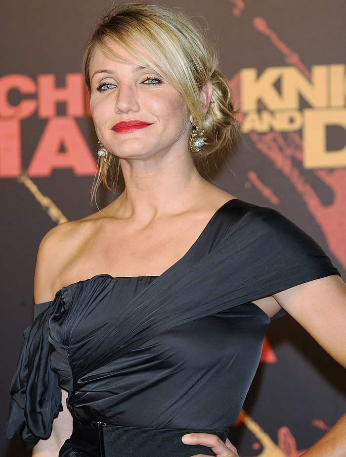 Knight and Day Seville Premiere – Cameron Diaz In Lanvin
