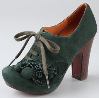 Chie Mihara Shoes Blom Flower Suede Booties