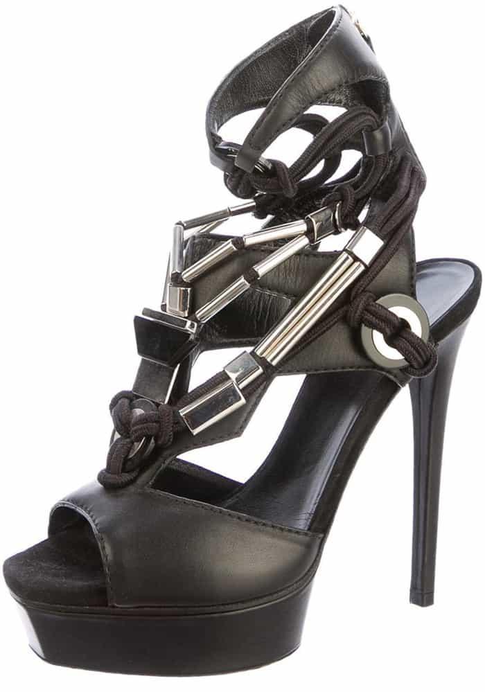 Gucci Sigrid High Heel Platform Sandals