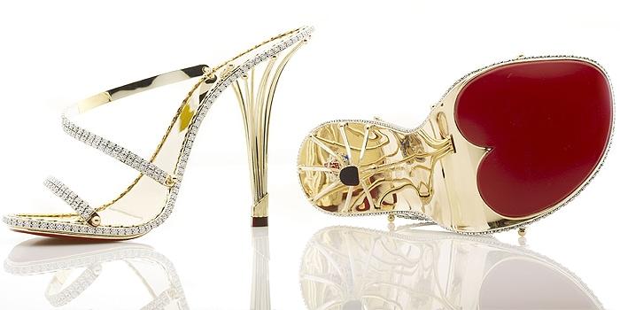 """""""Eternal Borgezie"""" diamond stilettos"""