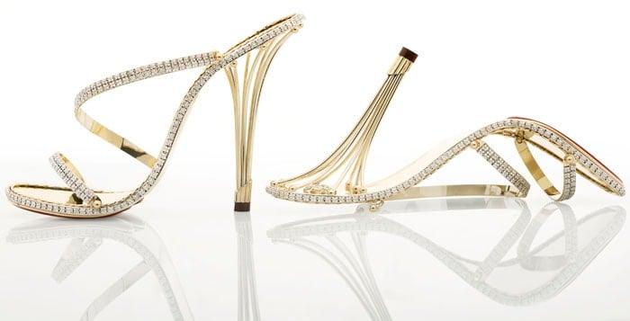 """The $230,000 """"Eternal Borgezie"""" diamond stilettos"""