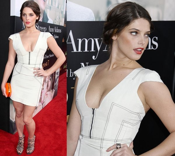 Ashley Greene at the Los Angeles Premiere of 'Julie & Julia' held at Mann Village Theatre in Los Angeles on July 27, 2009