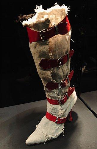 Linen Pirate Boots