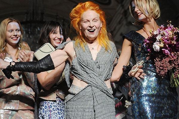 Vivienne Westwood at London Fashion Week Spring/Summer 2011 on September 19, 2010