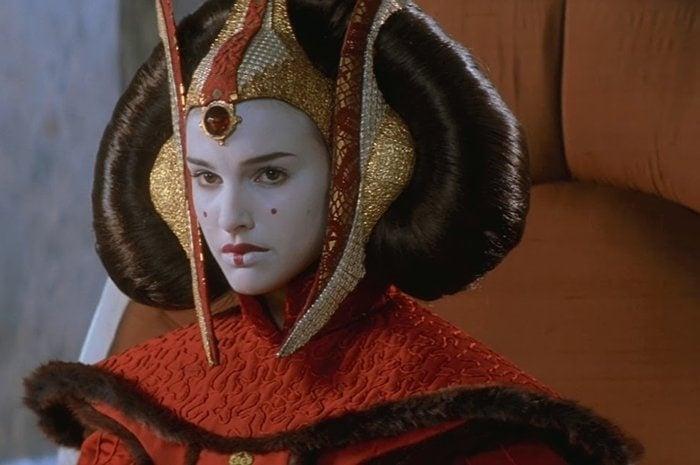 Natalie Portman was 16 when filming Star Wars: Episode I – The Phantom Menace