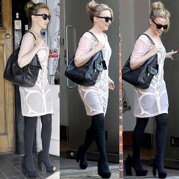Kylie Minogue's Errand-Running Shoes are the Yves Saint ...