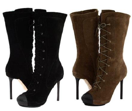 L.A.M.B. 'Prudence' Lace Up Boots