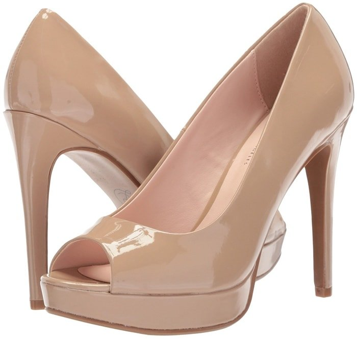 Make a chic statement when you elevate your look with the Chinese Laundry Holliston peep-toe pump