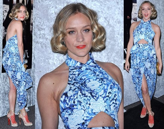 """Chloe Sevigny arrives at HBO's """"Big Love"""" Season 5 Party at Directors Guild of America in Los Angeles on January 12, 2011"""