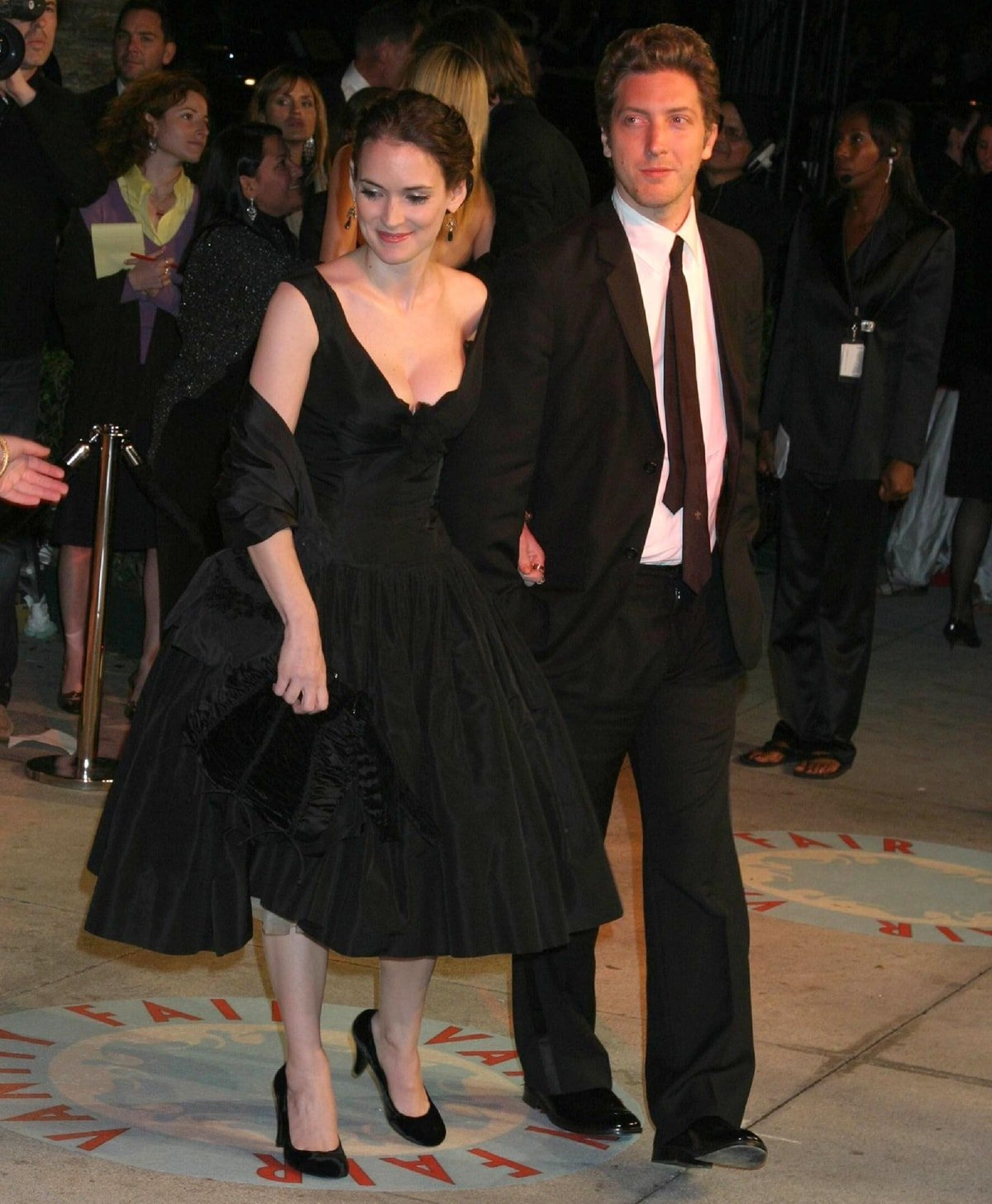 Academy Award-nominated American filmmaker Henry Alex-Rubin and Winona Ryder dated in 2006