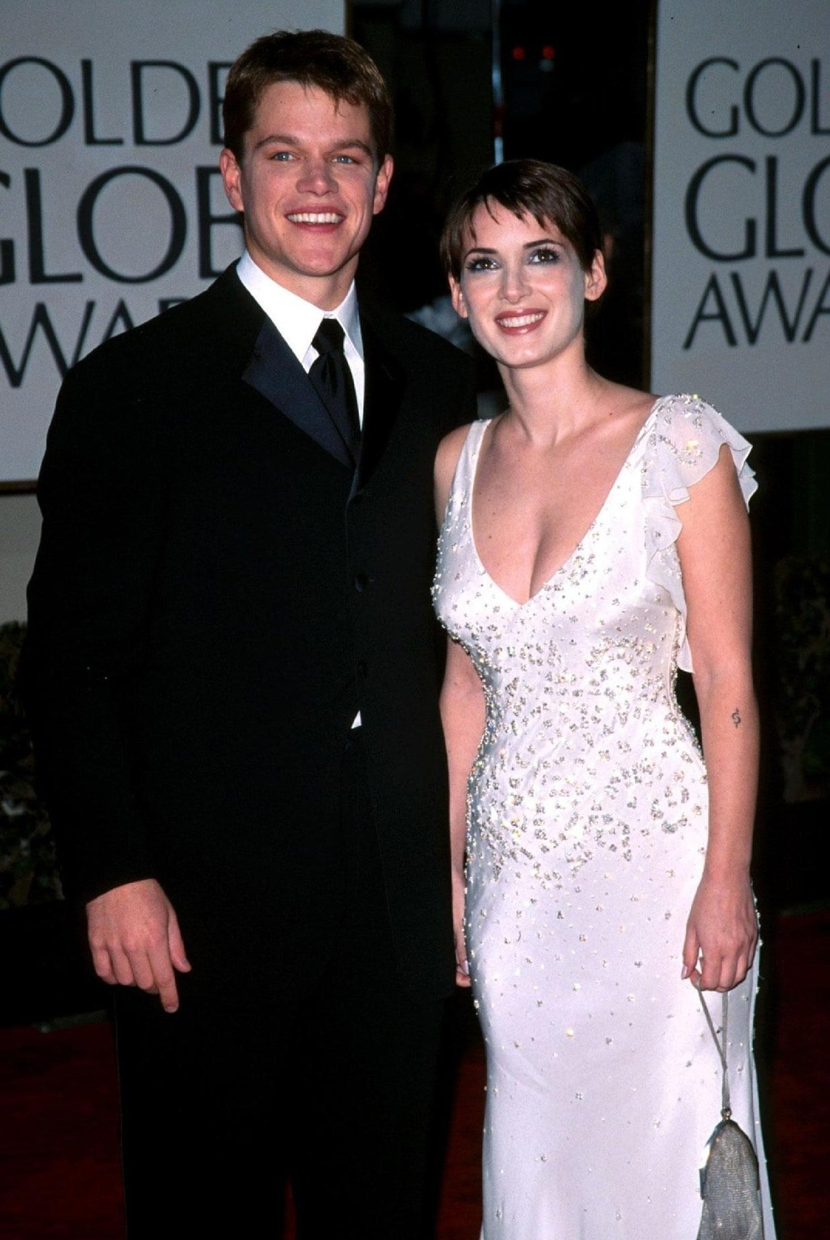 Matt Damon and Winona Ryder met through Gwyneth Paltrow in 1997 and dated for three years
