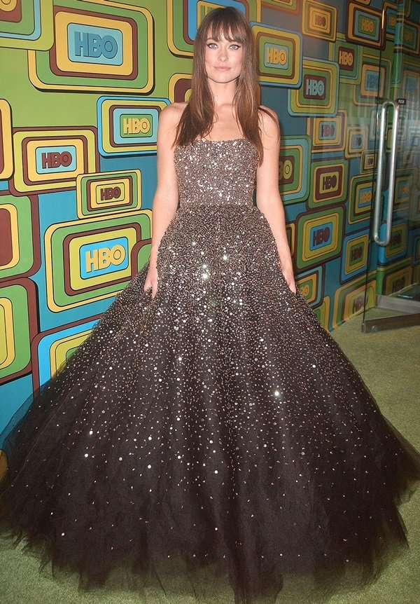 There were so many amazing looks at the 2011 Golden Globe Awards last Sunday but it was Olivia Wilde who really blew me away