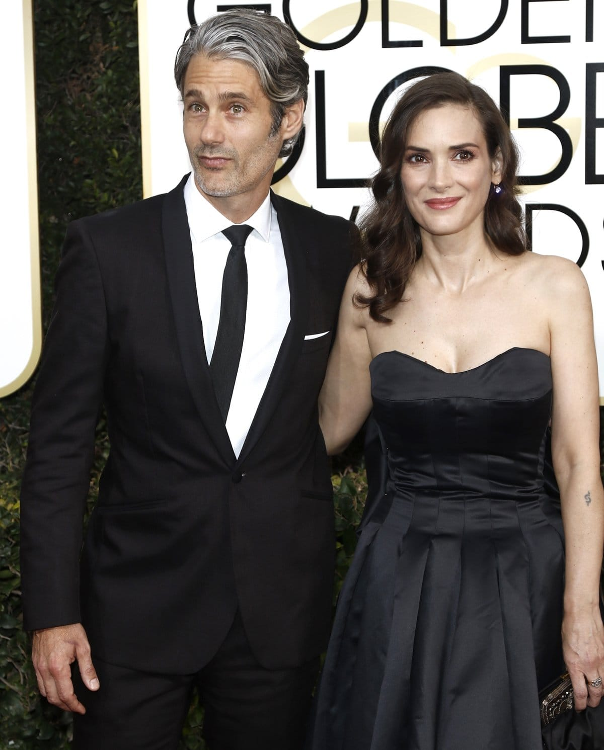 Fashion designer Scott Mackinlay Hahn and Winona Ryder have been together since 2011
