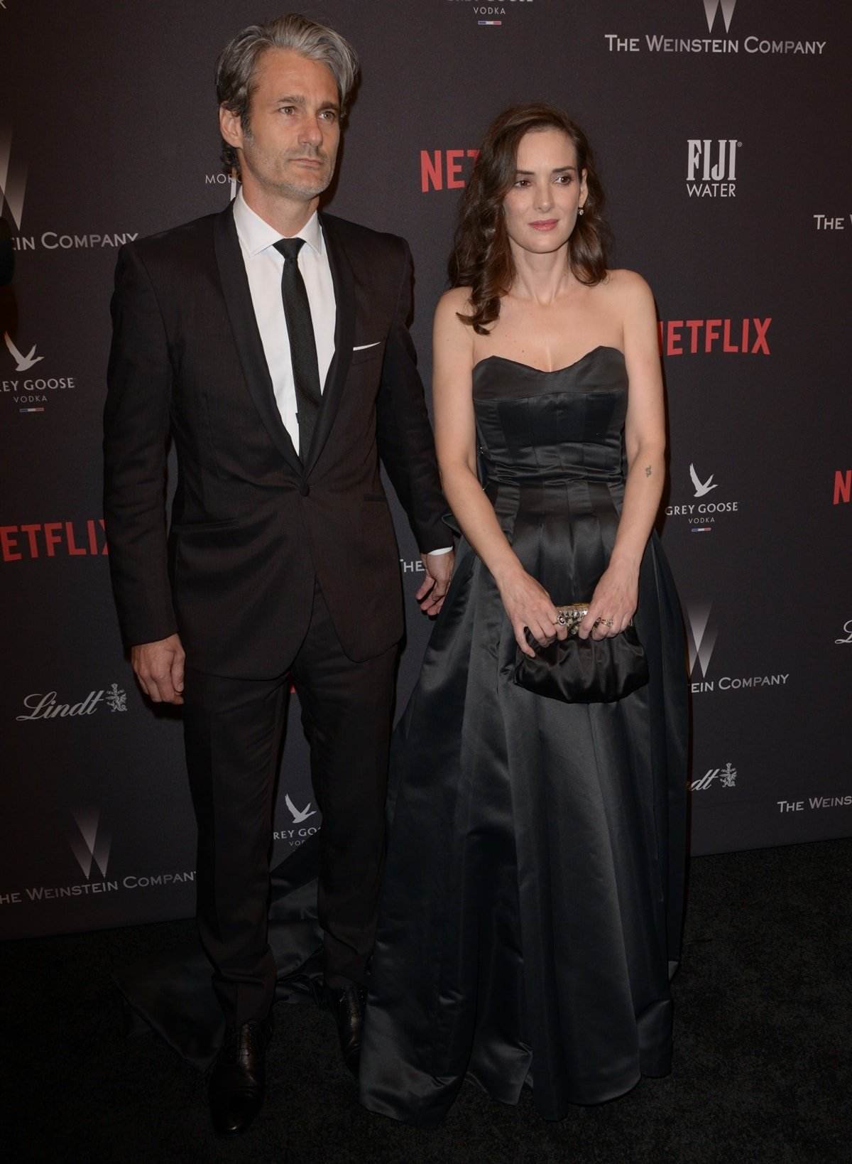 Winona Ryder and her longtime boyfriend Scott Mackinlay Hahn prefer not to share details about their relationship
