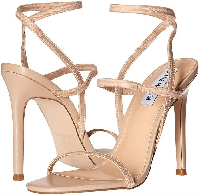 Complete your look with this sleek Steve Madden Nectur Heeled Sandals