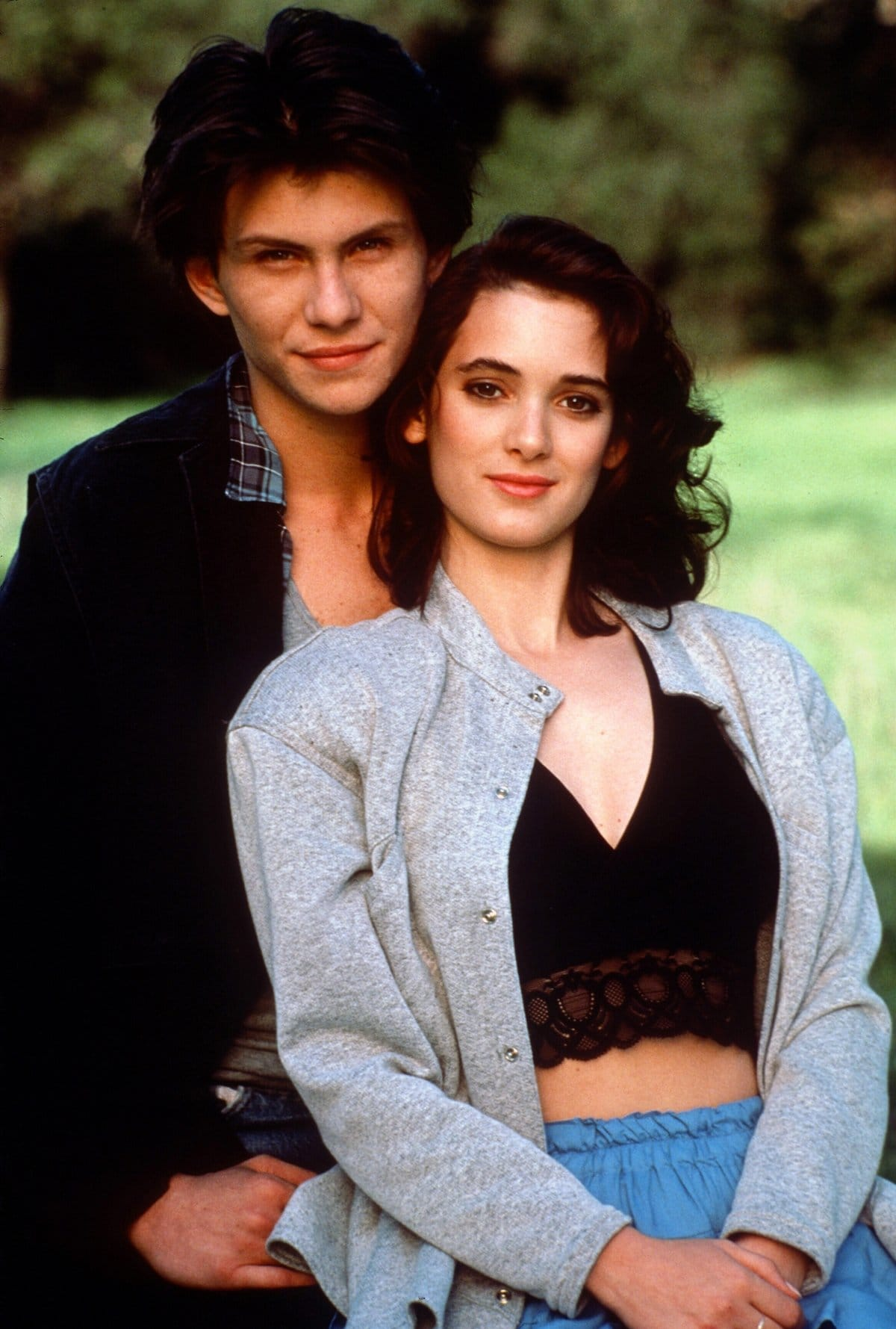 Christian Slater and Winona Ryder fell in love after meeting on the set of Heathers
