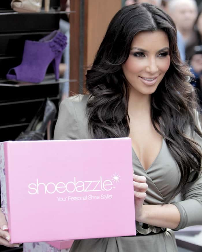 ShoeDazzle was founded by Kim Kardashian, Brian Lee, Robert Shapiro, and M.J. Eng in 2009