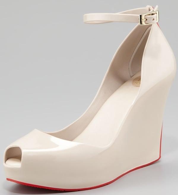 Melissa Shoes Patchouli V Wedge