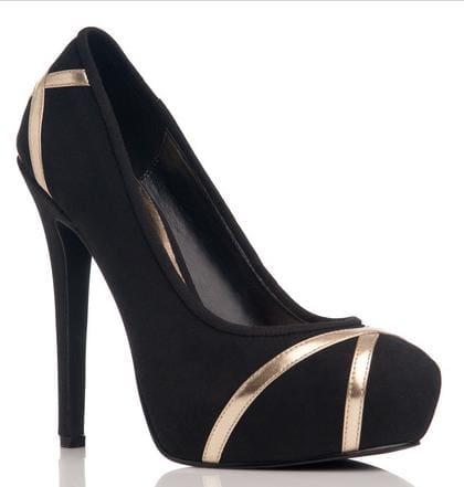 Black pumps from ShoeDazzle