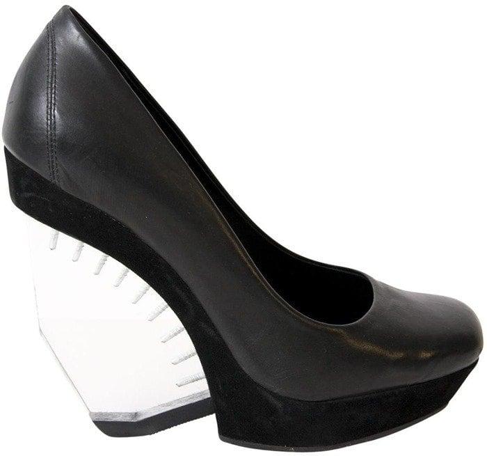 All Saints Ovid Perspex Heels