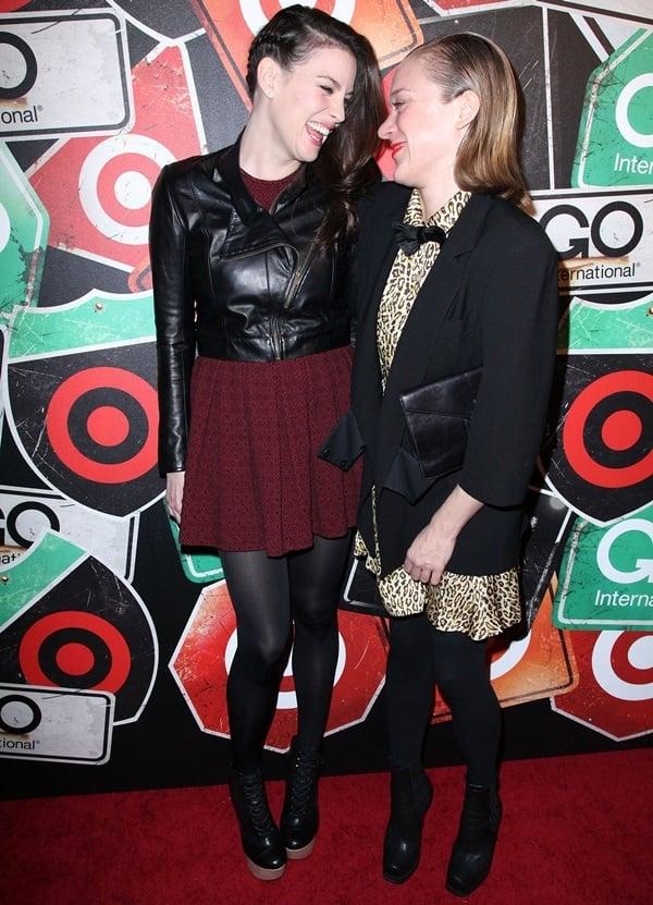 Liv Tyler and Chloe Sevigny