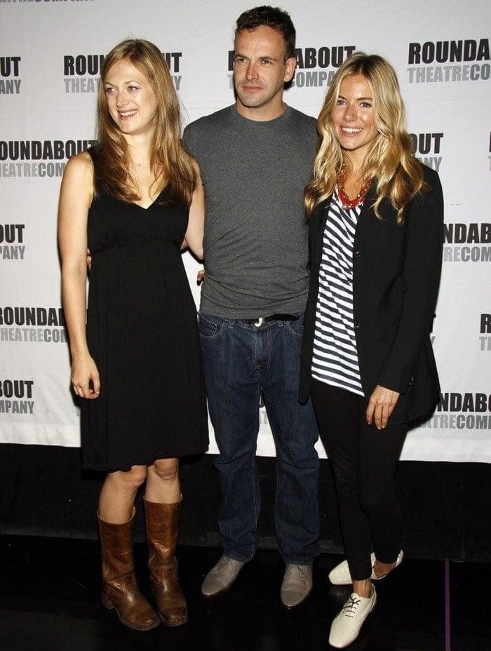 Marin Ireland, Jonny Lee Miller and Sienna Miller