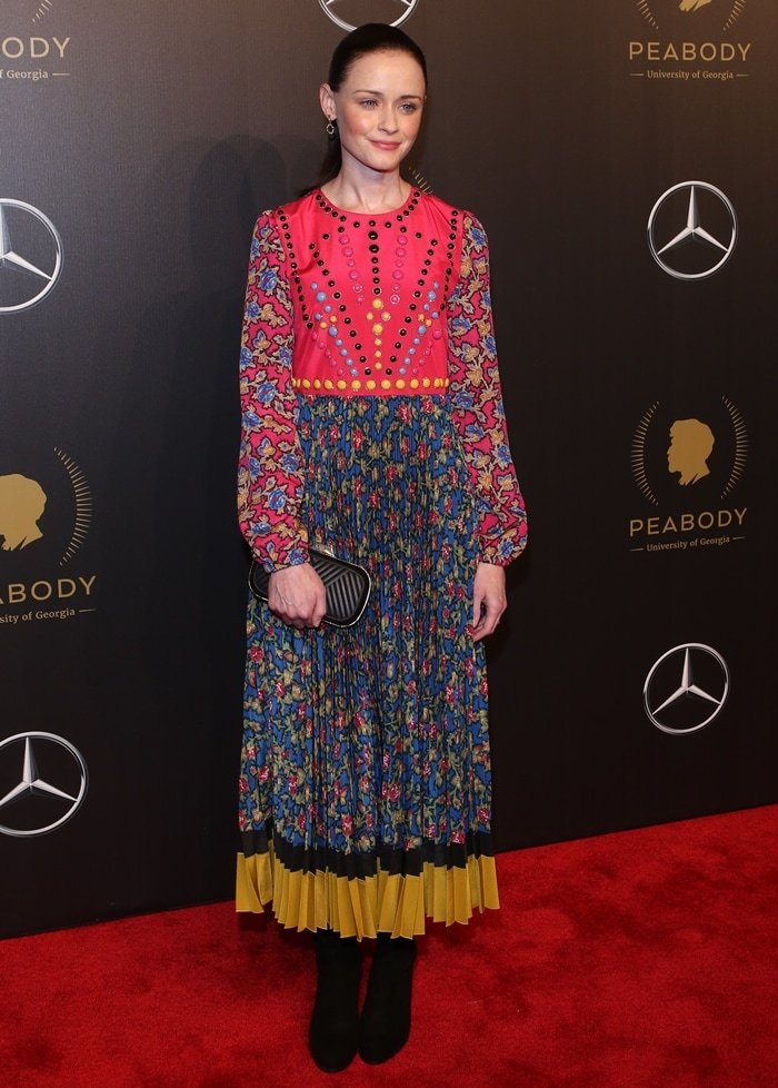 Actress Alexis Bledel of 'The Handmaid's Tale' poses for a portrait at The 77th Annual Peabody Awards Ceremony