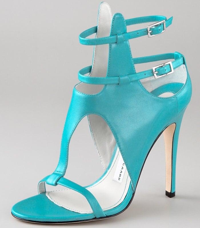 Turquoise Camilla Skovgaard Ankle Point Strap Sandals