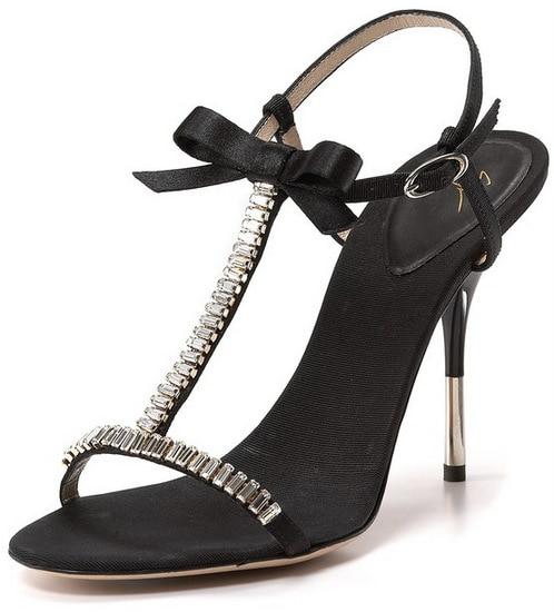 Giuseppe Zanotti T-Strap Evening Sandals