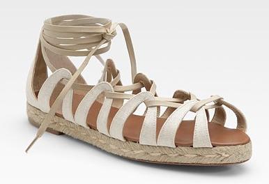Christian Louboutin 'Spartacorda' Lace Up Sandal