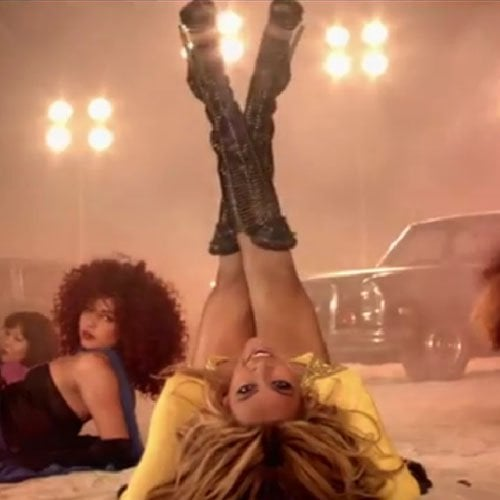 """Beyonce flaunts a pair of Sergio Rossi boots during her """"Run the World (Girls)"""" music video"""