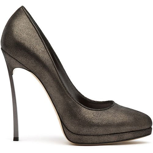 Casadei Fall 2011 metal heel pumps