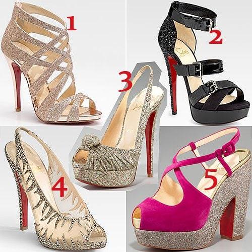 Christian Louboutin show stopper shoes