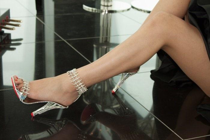 Contessa Wafer Stiletto Heels