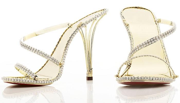 "The ""Eternal Borgezie"" diamond stilettos by luxury jeweler House of Borgezie"
