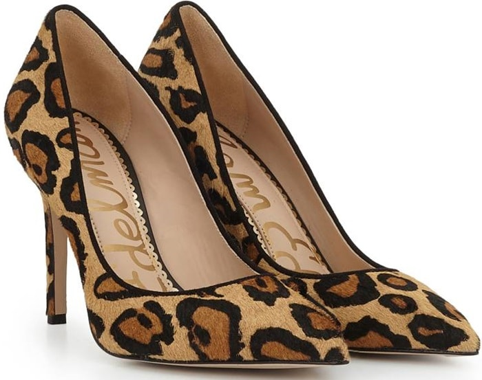 Nude Leopard Print Shoes