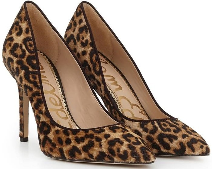 Sand Leopard Print Shoes