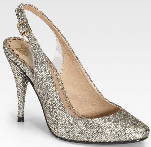 Juicy Couture Danika Glittered Slingback